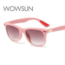 WOWSUN роскошные квадратные солнцезащитные очки для женщин Брендовая дизайнерская обувь летние оттенки черного Винтаж негабаритных солнцезащитные очки Для женщин женские A776