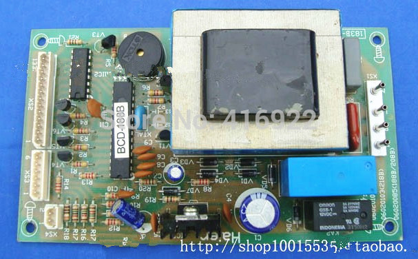 95% new Original good working refrigerator pc board motherboard for haier bcd-208b 188b 00606020085 on sale server motherboard for se7501wv2 320m scsi raid system board original 95%new well tested working one year warranty