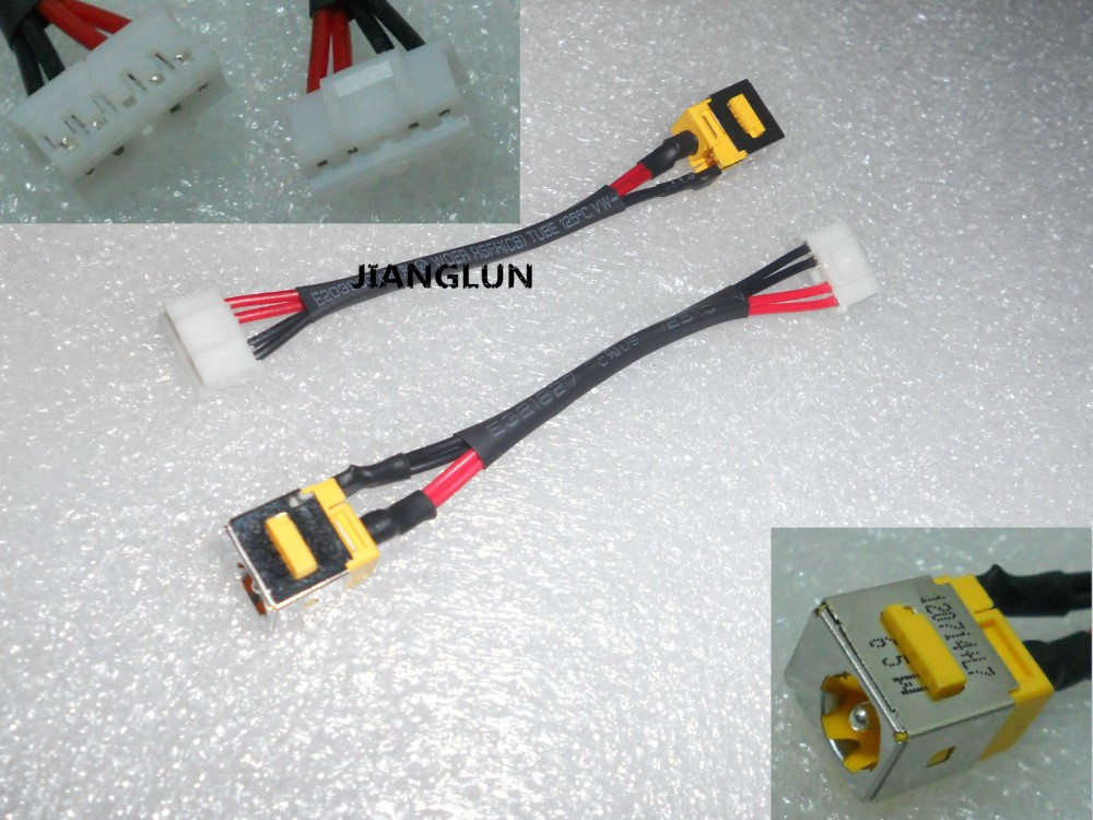 JIANGLUN DC Power Jack And Cable For Acer Extensa 5220 5230 5430 5620 5620Z 5630 5635 hot new laptop dc power jack with cable for desktop laptop for acer aspire 5741 dc jack with cable free shipping