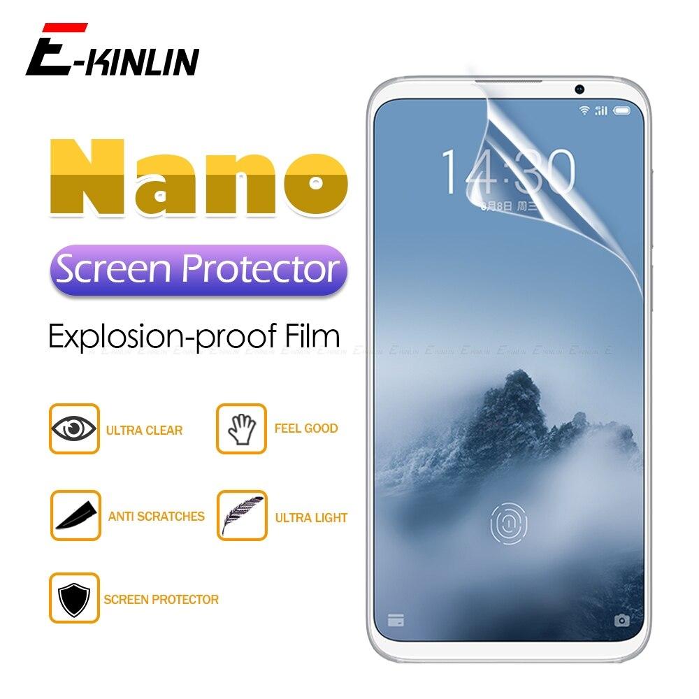 Protective-Film Screen-Protector Display Meizu X8 15-Lite-Plus No for Clear Soft-Nano