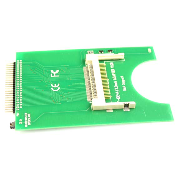 CF to 44 Pin Laptop HDD Hard Drive IDE Adapter Bootable cf compact flash merory card to vertical 2 5 44 pin ide hard disk drive hdd ssd adapter