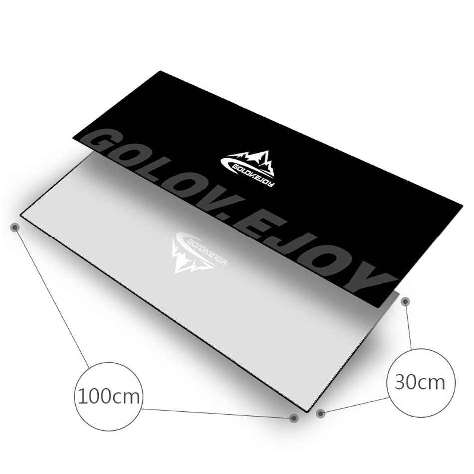 Częścią zdrowego stylu życia obejmuje wykonanie siłownia pływać joga Golft ręcznik z nadrukiem Ultralight mikrofibry szybkie suche uczucie zimna chłodzenie lodu pływanie Running podróży