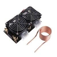 1800W ZVS Induction Heating Board Module Flyback Driver Heater Tesla Coil Fan Z07 Drop Ship
