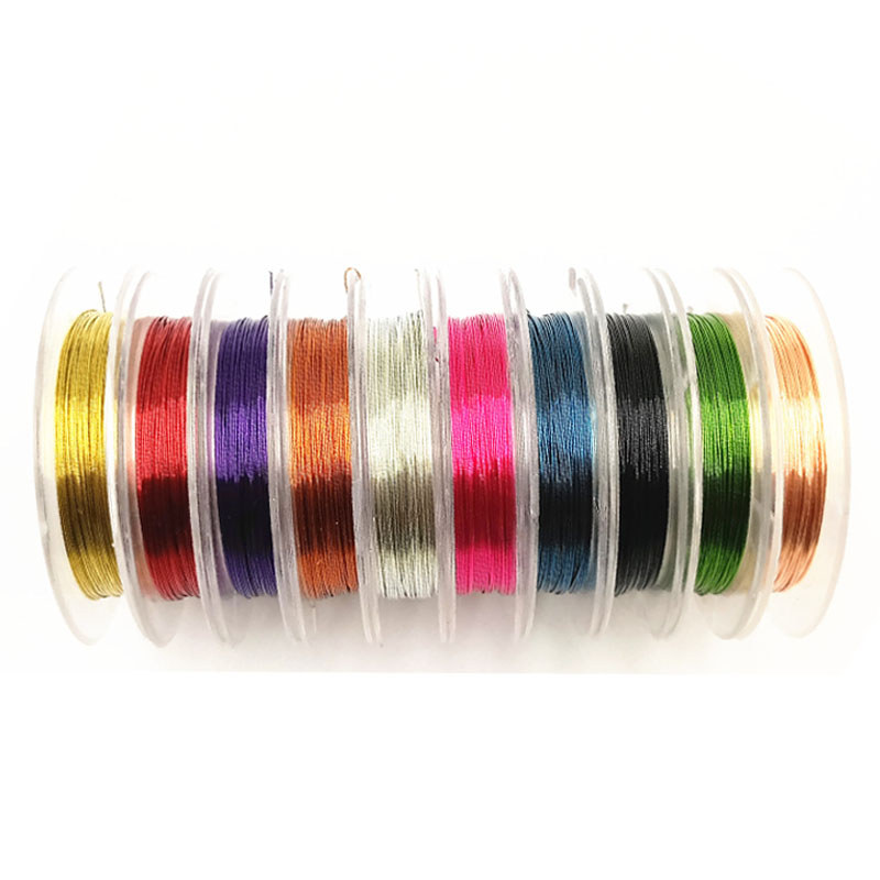 Fashion 0.3mm 10m Sturdy Alloy Copper Wire Beading DIYJewelry Making Wire Cord/String Accessories