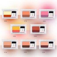 8 colors Lazy Eyeshadow Shimmer Two-Tone Gradient Eye Shadow Eyeshadow Palette Make Up Brush Tool Set Eye Shadow Color H5 Eyeshadow