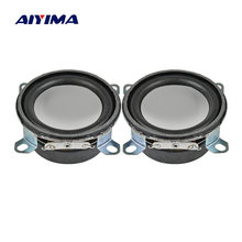 AIYIMA 2Pcs 53mm Mini Audio Portable Speakers Altavoces 4 Ohm 3W Speaker 45 Magnetic Altavoz DIY For Home Theater(China)