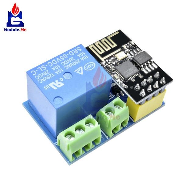 ESP8266 5V 1CH Relay Module ESP-01/01S WIFI Module for Arduino UNO R3 Mega2560 Nano Raspberry Pi Smart Home Wireless Relay Board