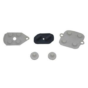 Image 2 - 10 juegos de almohadillas de silicona y goma conductora, controlador de reparaciones para Super Nintendo SNES para SFC