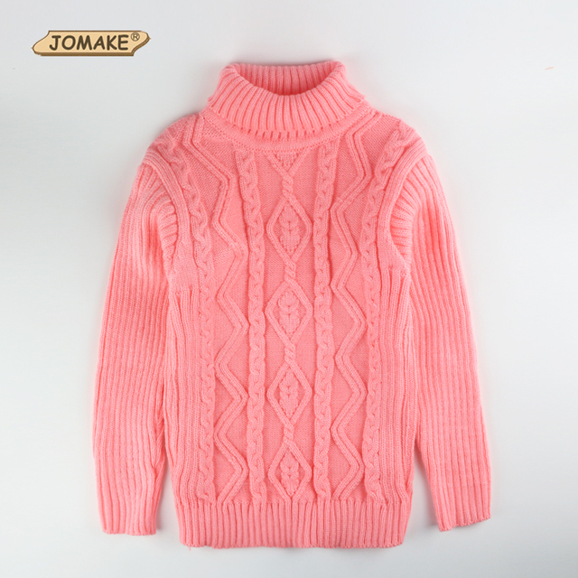 Baby Girl Boy Clothes High Neck Warm Sweater Children Toddler Kids Poloneck Turtleneck Winter Autumn Pullover Knitted Loose Tops