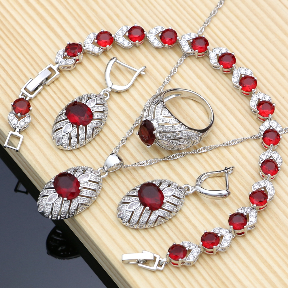 Red Birstone Jewelry Sets...