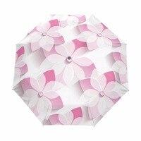 2018 New Umbrella Rain Women Automatic Flower Umbrellas Folding Rainny Male Unique Parasol Umbrella