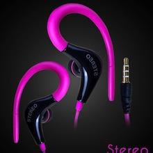 3.5 mm jack hanging ear type anti-shedding wire sports earphones headset super b