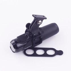 Zaczep na lampę rowerową uchwyt wspornika adapter do aparatu uniwersalny do Garmin out przednie uchwyty komputerowe kamery Gopro