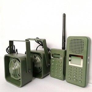 Image 5 - Decoy Jacht Brid caller 300 500 m Remoteremote Controle 2*50 W Externe Luidspreker Elektronica Dier Caller voor Jacht