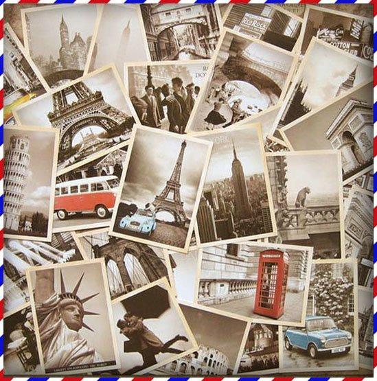 Premium Golden Anniversary Labels Or Emblems Logotype Set: Vintagebusiness Cards: Classical Famous Europe Building