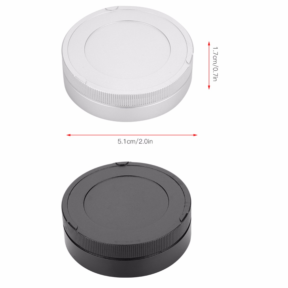 Camera Body and Rear Lens caps,Compatible with for Leica M LM Voigtlander VM Lens Body and Lenses Zeiss ZM