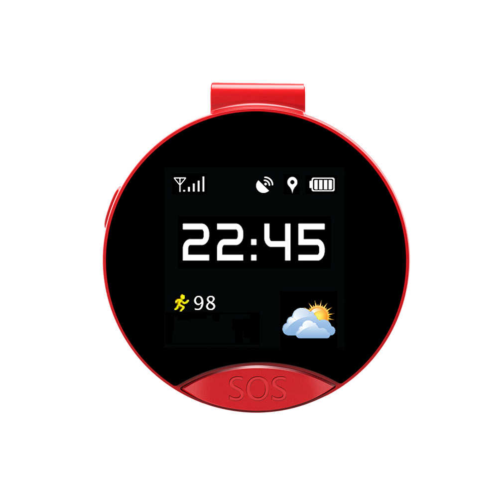 Latest S9 Smart GPS Positioning Pocket Watch One-Key Two-Way Emergency Calling SOS  Waterproof Sweatproof Magnetic
