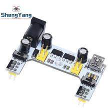 1pcs ShengYang MB102 white Breadboard Power Supply Module 3.3V 5V For arduino Solderless
