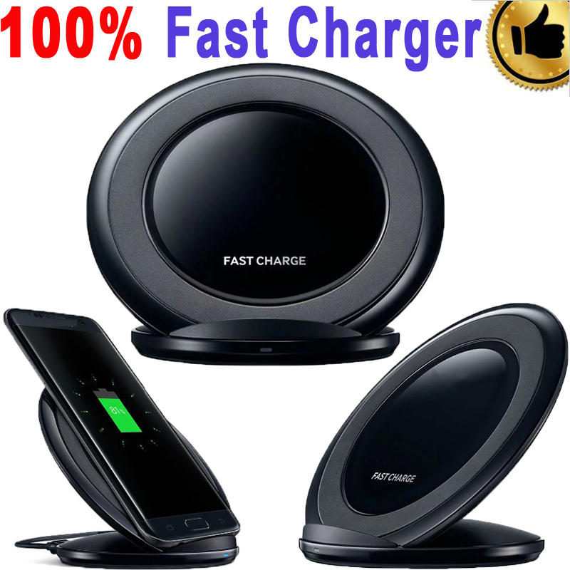 100% Genuine Fast Charger for Samsung Galaxy S7 <font><b>edge</b></font> Wireless Charger for Samsung Galaxy S7 S6 <font><b>edge</b></font> Plus/<font><b>Note</b></font> 5/<font><b>Note</b></font> <font><b>7</b></font>/Note7
