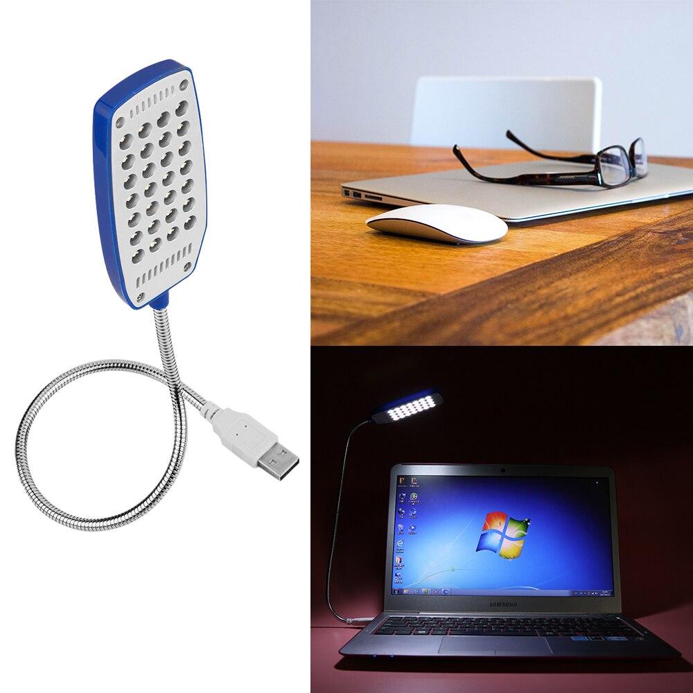 Usb Led Lamp Mini Light Flexible Computer Table Lampe Laptop Pc Desk