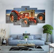 Diamond Painting On Farm Tractor landscape Pictures drill Rhinestones 5pcs full Square diamond embroidery mosaic Needlework art
