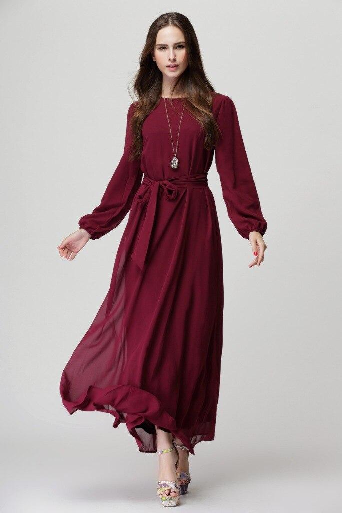 2b50215fb9 US $19.88 |2017 New chiffon musilm abaya dress,plus size dress Abayas  Malaysian Muslim Women Dress Sunday clothes-in Islamic Clothing from  Novelty & ...