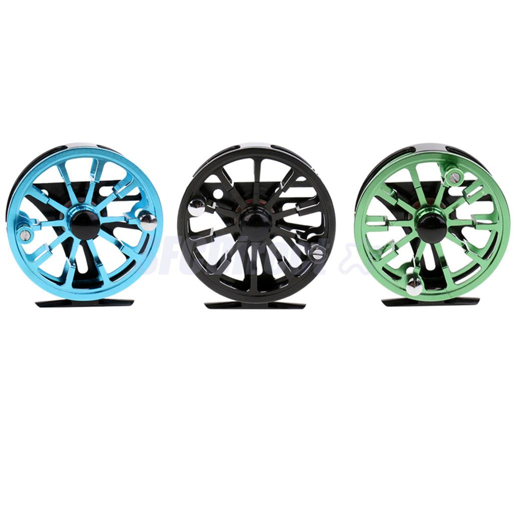 7/8 WF CNC Machined Aluminum Alloy Fly Fishing Reel 2+1BB Dia. 95mm Fly Reels Right/Left-Handed 7 8 left