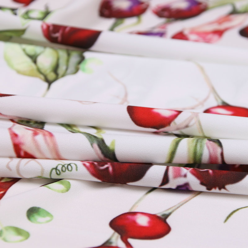 145cm digital printing fabric fashion dress scarf patchwork fabric polyester material diyparent child fabric wholesale cloth in Fabric from Home Garden