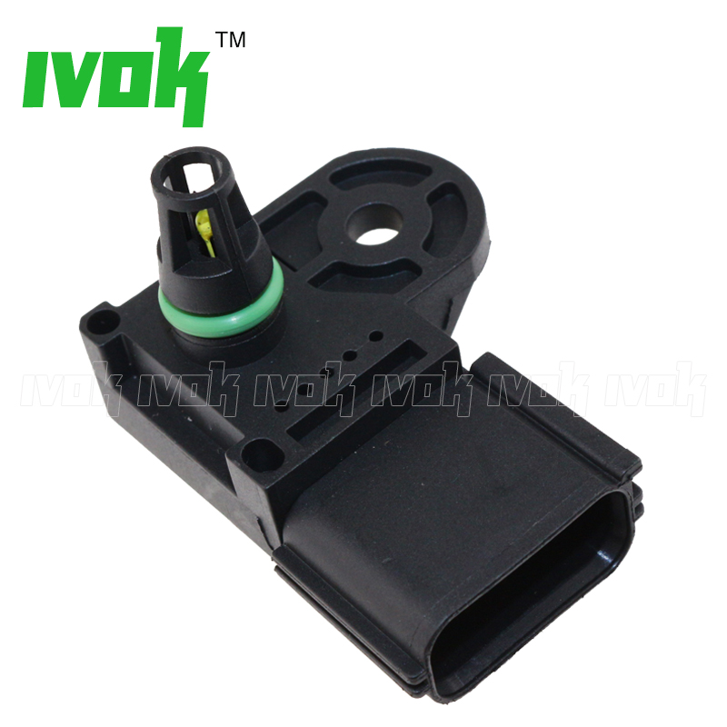 Brand New 1 Bar Manifold Absolute Pressure MAP Sensor For Ford Mondeo IV MK S-MAX Transit 1.8 2.0 2.3 1S7A9F479AC, 1S7A-9F479-AC