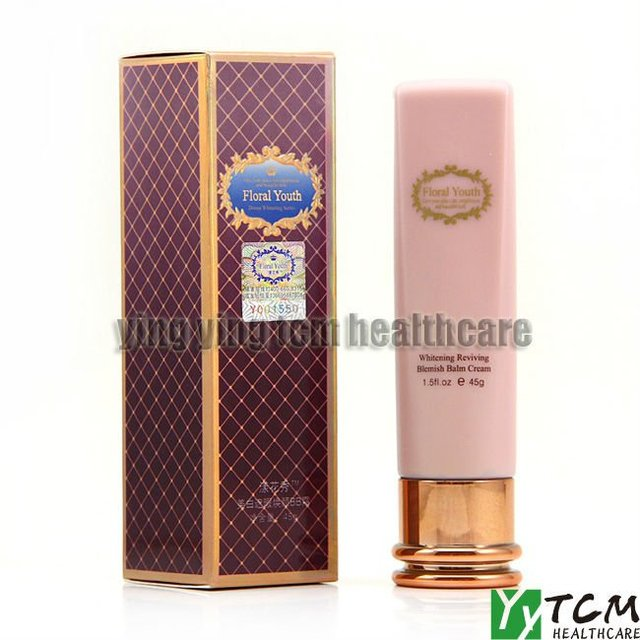 wholesale Floral Youth Skin Care whitening reviving blemish balm cream 45g BBcream