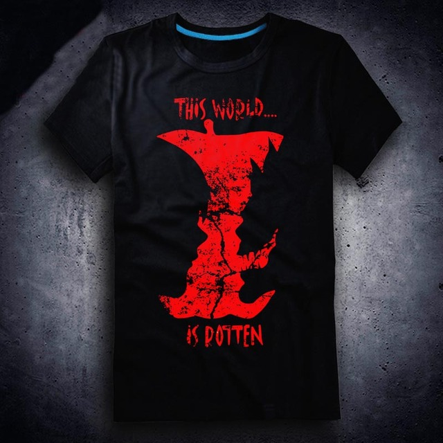 New Death Note T-shirt Anime t shirt Cotton Summer Short-sleeve Tees tops