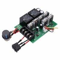 Mayitr ШИМ Двигатель Скорость регулятор dc 10 В-50 В 12/24/36/48 В 60a CW Налево реверсивный переключатель для DC Кисточки Двигатель