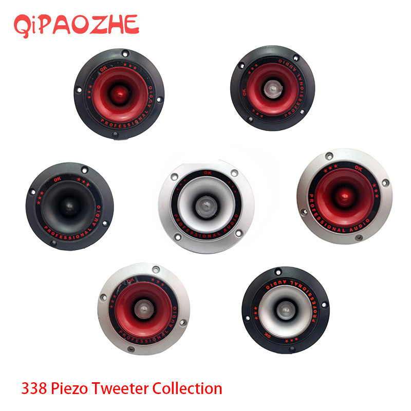 Humble 2pcs Audio Speaker Tweeter 4colorful Flashing Piezoelectric Loudspeaker Treble Head Driver Home Stage Refreshment Back To Search Resultsconsumer Electronics