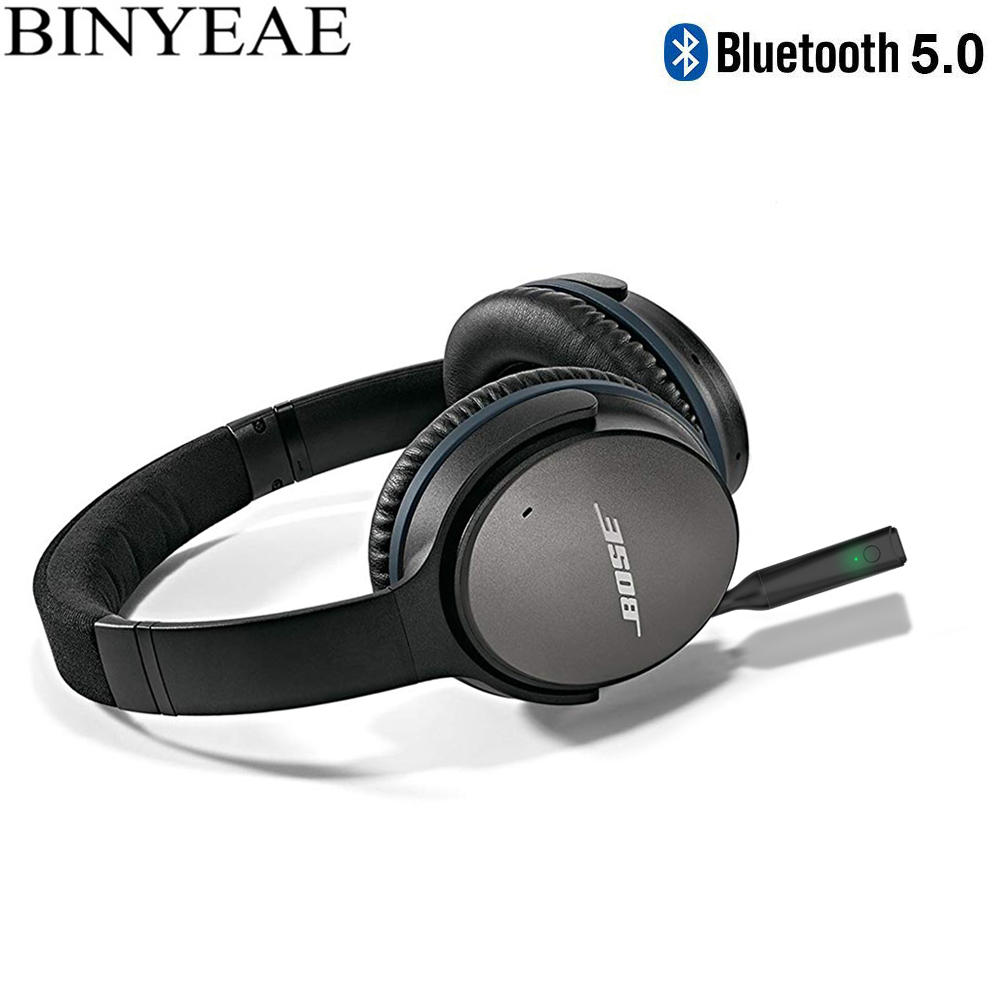 Bluetooth 5.0 Wireless Stereo 2.5mm Audio Adapter For Bose Quiet Comfort 25 QC25 OE2 OE2i AE2 AE2i On Over Around Ear Headphone
