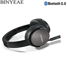Bluetooth 5.0 stereo senza fili audio da 2.5mm adattatore per Bose  Tranquillo Comfort 25 QC25 OE2 OE2i AE2 AE2i Su Oltre intorno. 0b72ad80d614
