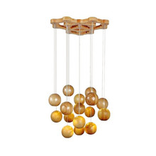 Modern Wood Chandelier For Living Room Crystal Light Fixture Lustre Lustres Para Quarto Lights