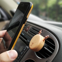 Magnetic Car Mount Holder And Auto Air Freshener For Cell Phones Interior Cell Phone Mount Car Fragrance Diffuser