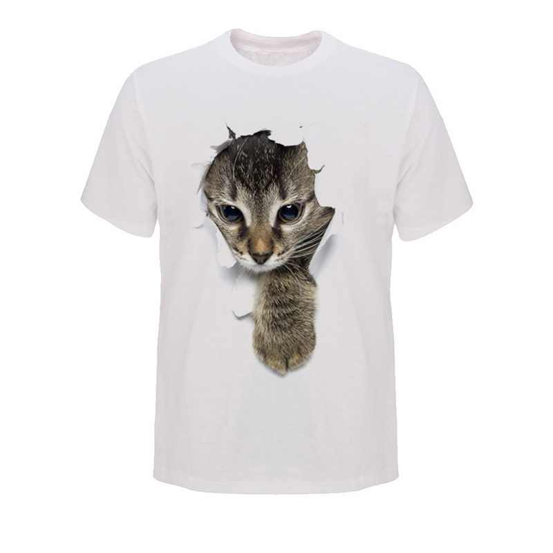 LASPERAL брендовые забавные мужские футболки модные милые футболки с котами рукавом с круглым вырезом футболки уличная Мужская футболка Топы