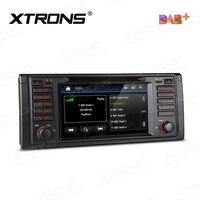 7 DAB Car Radio 1Din DVD Player GPS For BMW E39 M5 E39 7 Series E38