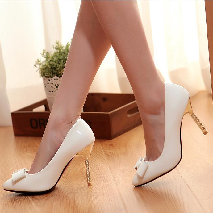 Heels Nude women Pumps color Fashion Pointed Toe Women Shoes women High Heels Sexy Ladies Stilettos Platform Pumps Shoes 2016 summer high heels shoes pointed toe pumps women sexy office ladies fashion wedges platform shoes
