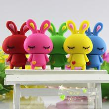 Rabbit USB Flash Drive 64gb USB 3.0 Stick Pendrives Memory 32GB 16GB 128GB Card 512GB