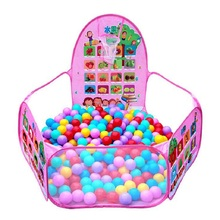 все цены на Portable Baby Playpen Children Outdoor Indoor Ball Pool Play Tent Kids Safe Foldable Playpens for Kids Gifts онлайн
