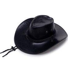 Западные Ковбойские шляпы дорожные кепки для женщин мужские кепки s шляпы кожаные рыцарские шляпы солнцезащитный Войлок джаз шляпа кости ковбойская Кепка для мужчин (Copy)