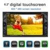 2 Din Car DVD Player 6 2 Universal HD Car Stereo DVD Player Bluetooth Radio Entertainment