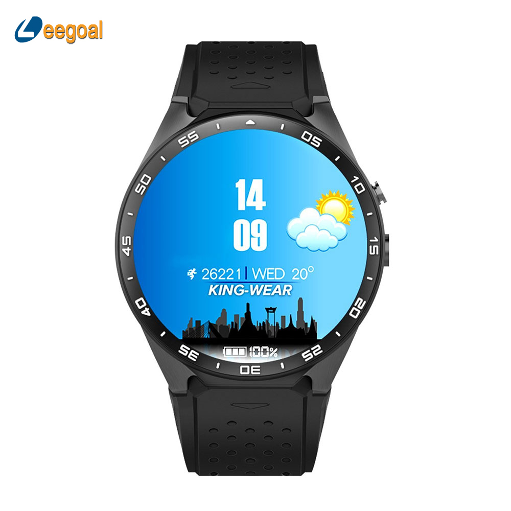 Original KW88 Smartwatch Android 5.1 3G WIFI Cell Phone in-One Bluetooth Smart Watch SIM Card with GPS Camera Heart Rate Monitor floveme q5 bluetooth 4 0 smart watch sync notifier sim card gps smartwatch for apple iphone ios android phone wear watch sport