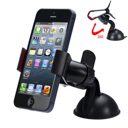 Universal 360 degree car windshield mount cell mobile phone holder bracket stands for iphone 5 6.jpg 250x250