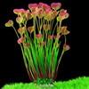 New 40cm Butterfly Shape Plastic Artificial Aquarium Plant Decoration Fish Tank Decorative Plant Grass Ornament 3 Color