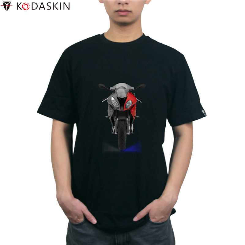 KODASKIN Motorcycle <font><b>T</b></font>-<font><b>shirt</b></font> Racing Tee <font><b>Shirts</b></font> tshirt Men Fashion Tops for <font><b>BMW</b></font> S1000RR image