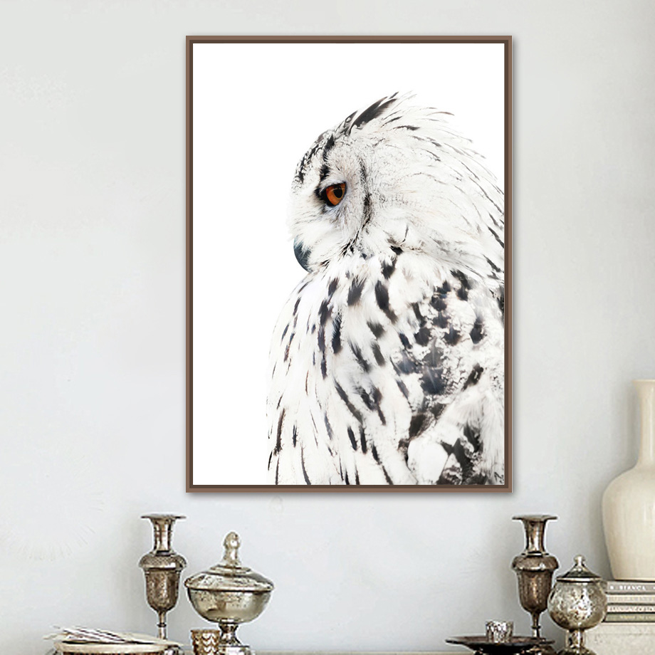 Eagle Animal Poster Wall Art Canvas Painting Nordic Posters And Prints Decorative Pictures Wall Pictures For Living Room Decor(China)