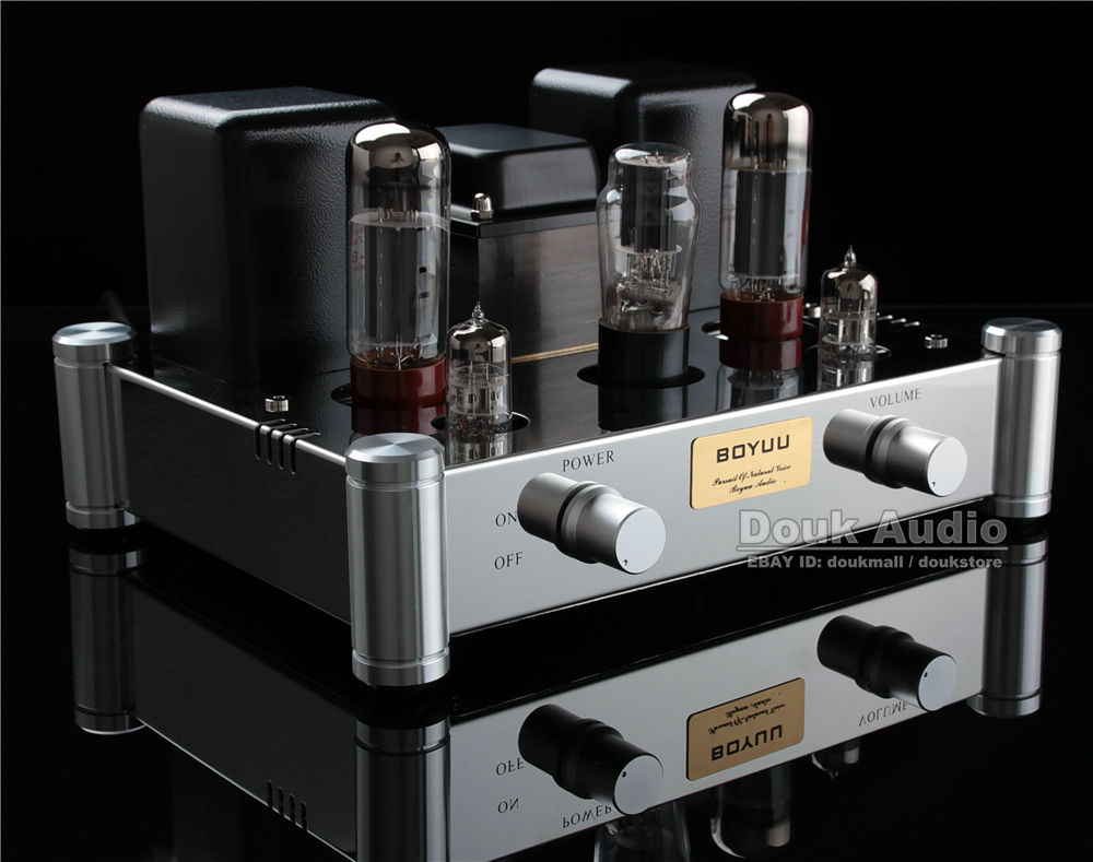 Music Hall Douk Audio EL34 Vacuum Tube Amplifier HiFi 2.0 Channel Class A Stereo Amp 12W*2 Manual welding scaffolding music hall pure handmade hi fi psvane 300b tube amplifier audio stereo dual channel single ended amp 8w 2 finished product